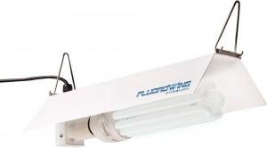 Hydrofarm FLCDG125D Fluorowing Compact